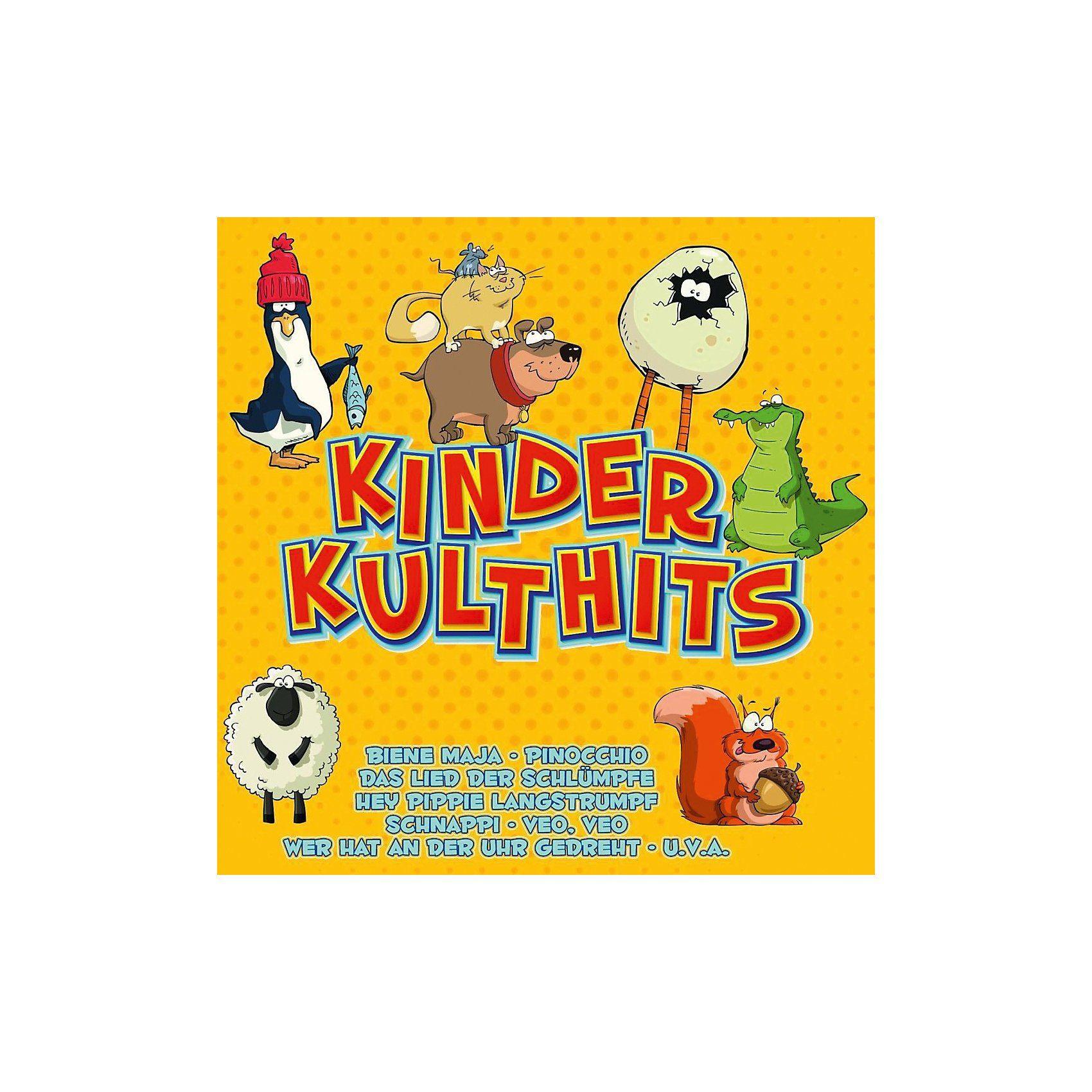 CD Kiddy Cats - Kinder Kulthits