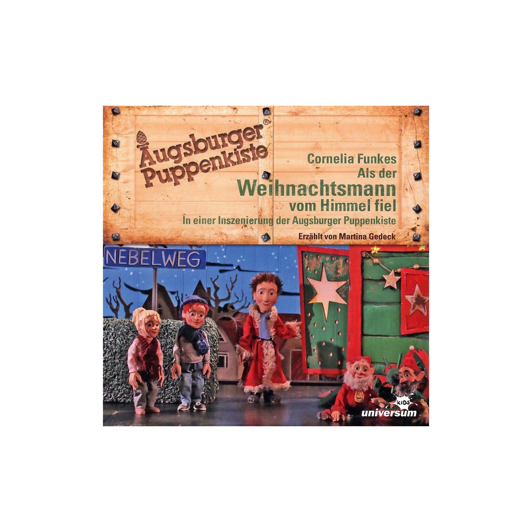 Universum CD Augsburger Puppenkiste - Als der Weihnachtsmann vom Himme