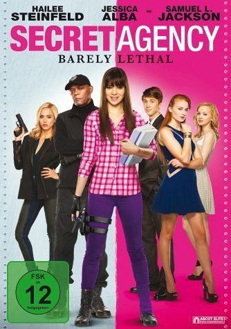 DVD »Secret Agency - Barely Lethal«