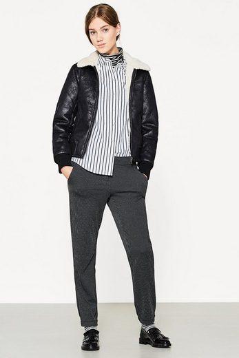 ESPRIT Jersey-Stretch-Hose mit Nadelstreifen