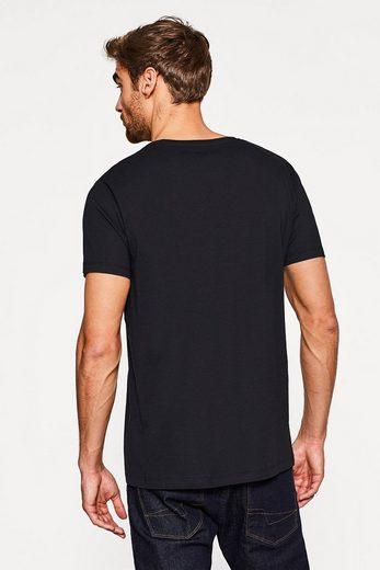 ESPRIT 2er-Pack Jersey-Shirts aus Organic Cotton