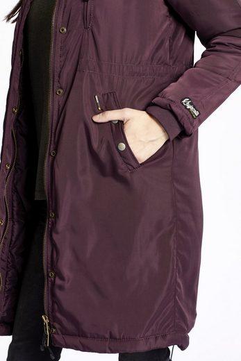 khujo Wintermantel MARIE, mit verschließbaren Taschen