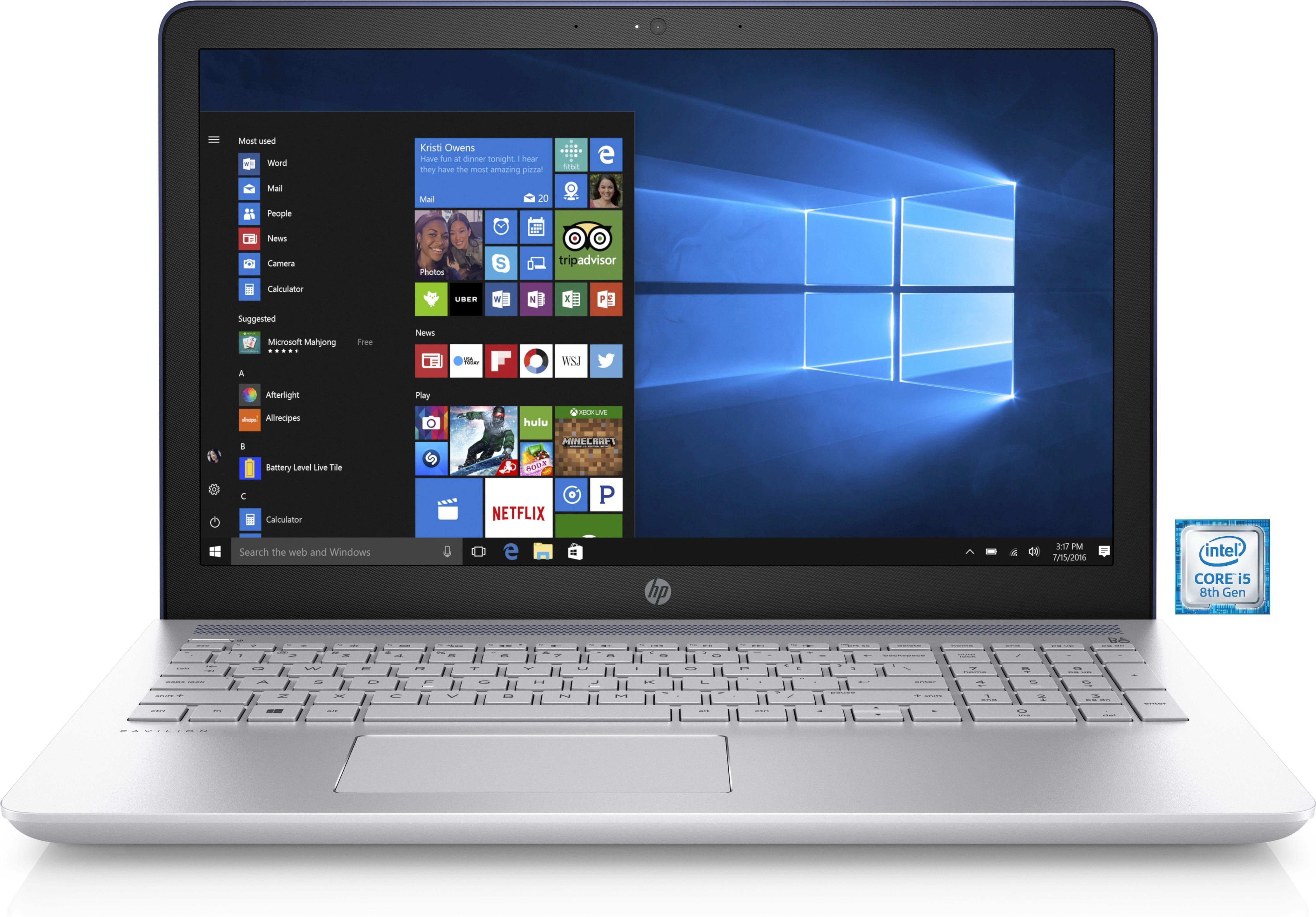 "HP Pavilion 15-cc107ng »Intel Core i5, 39,6 cm(15,6"") 256 GB, 8 GB«"