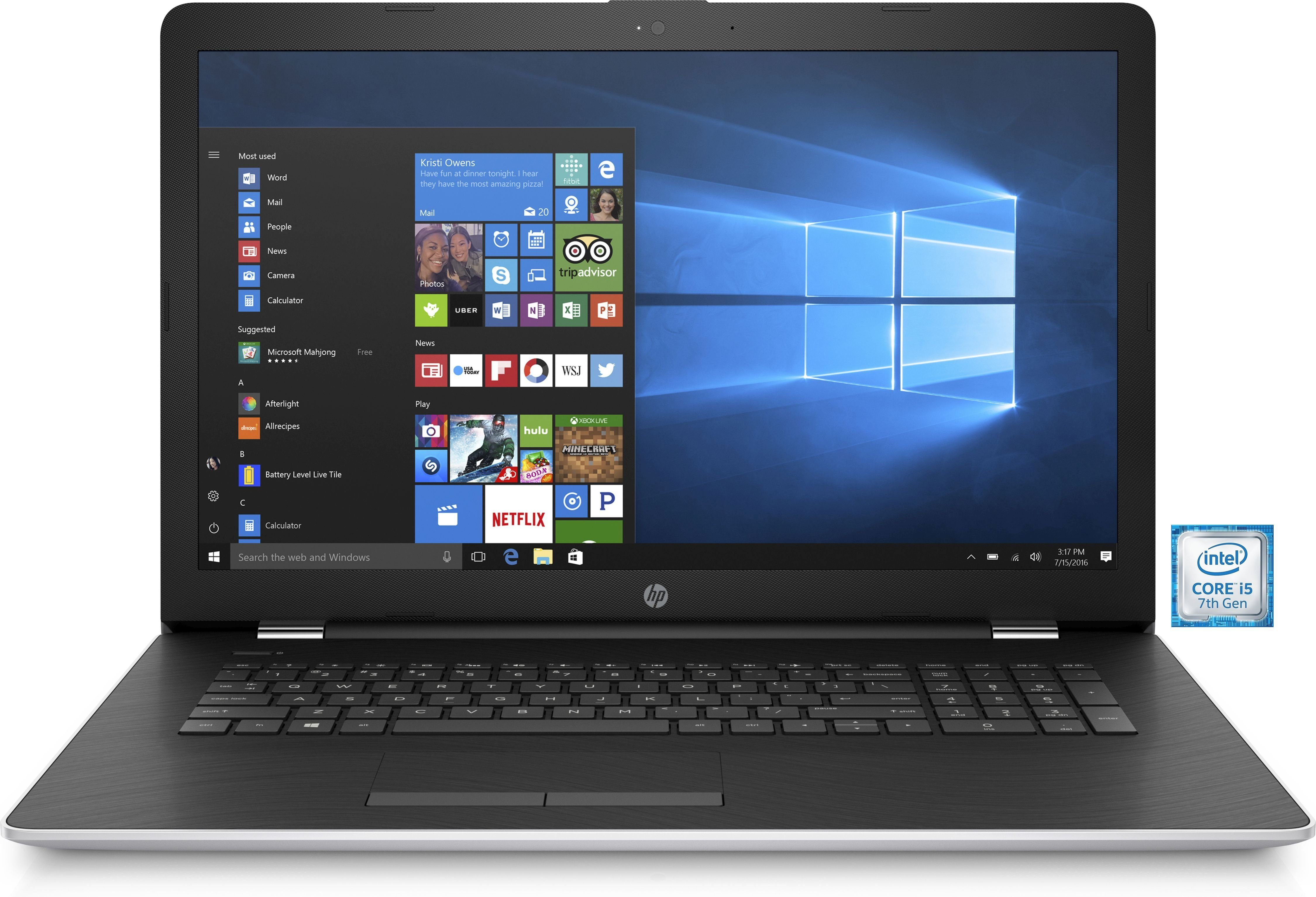 "HP 17-bs027ng Notebook »Intel Core i5, 43,9 cm (17,3"") 256 GB, 8 GB«"