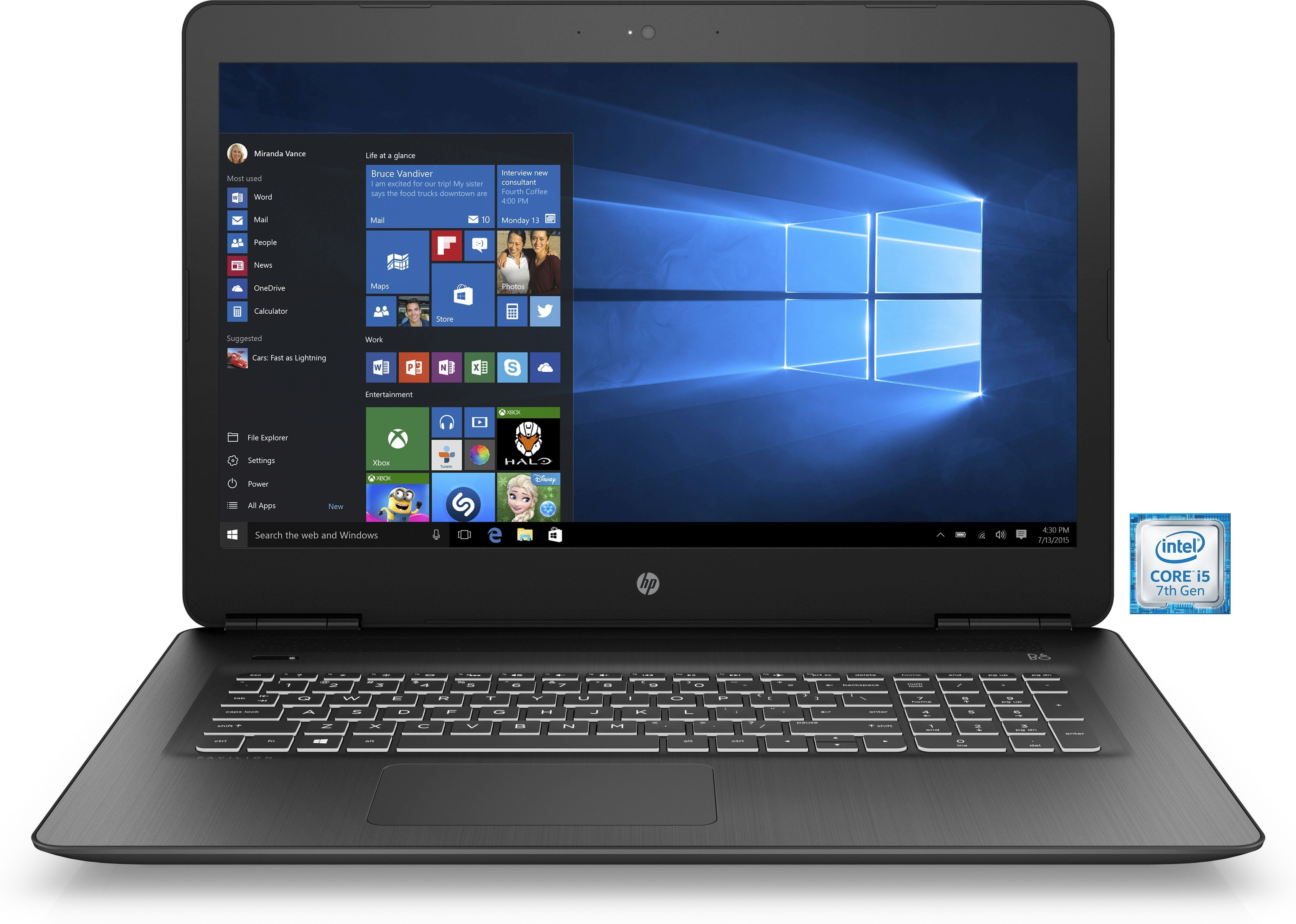 "HP Pavilion 17-ab303ng »Intel Core i5, 43,9 cm (17,3"") 1 TB, 8 GB«"