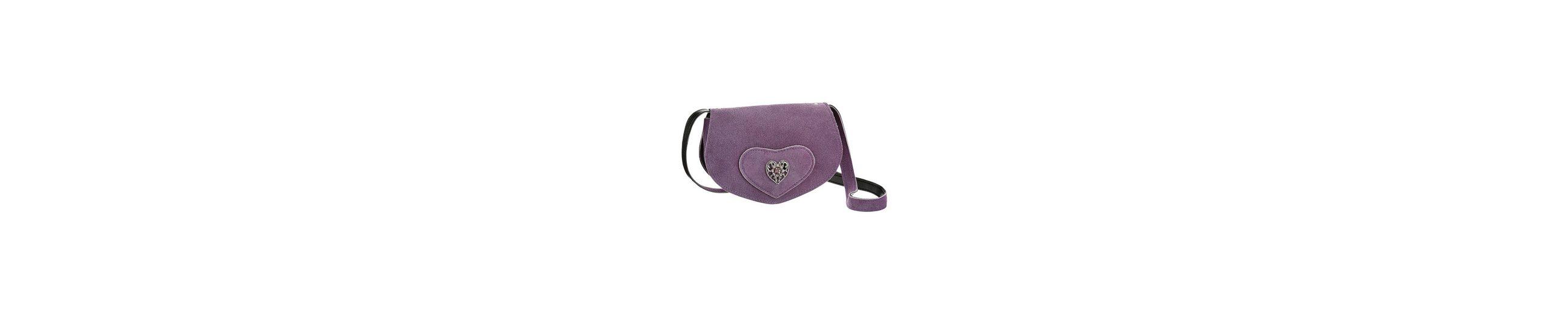 Spielraum Mode-Stil KABE Leder-Accessoires Trachtentasche mit Herzapplikation Größte Anbieter 100% Original Günstiger Preis Freies Verschiffen Für Nette QibOGL