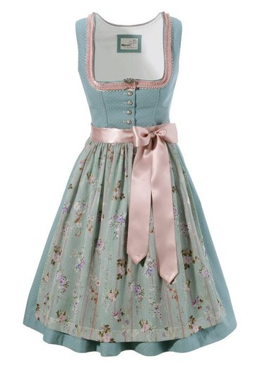 Marjo Dirndl Briefly With Floral Pattern