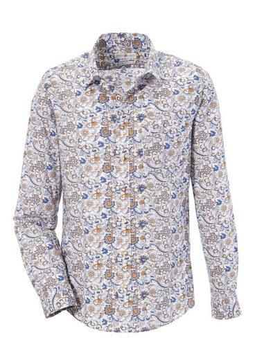 Almsach Trachtenhemd im Paisley-Dessin