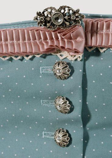 Marjo Dirndl Briefly With Floral Pattern