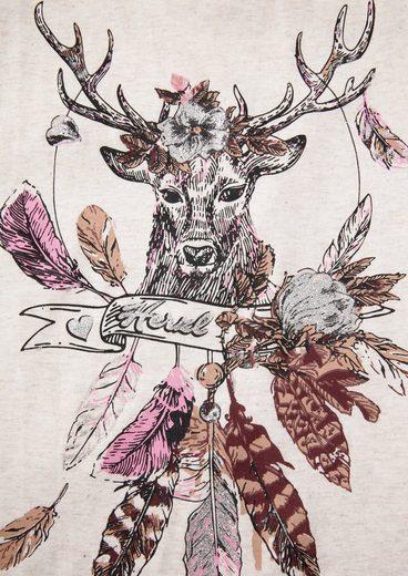 Hangowear Costume Shirt Ladies With Deer Pressure