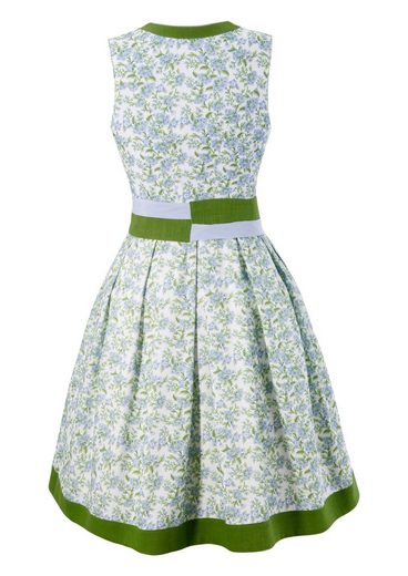 Country Line Costume Dress Women With Button Closure And Side Zipp