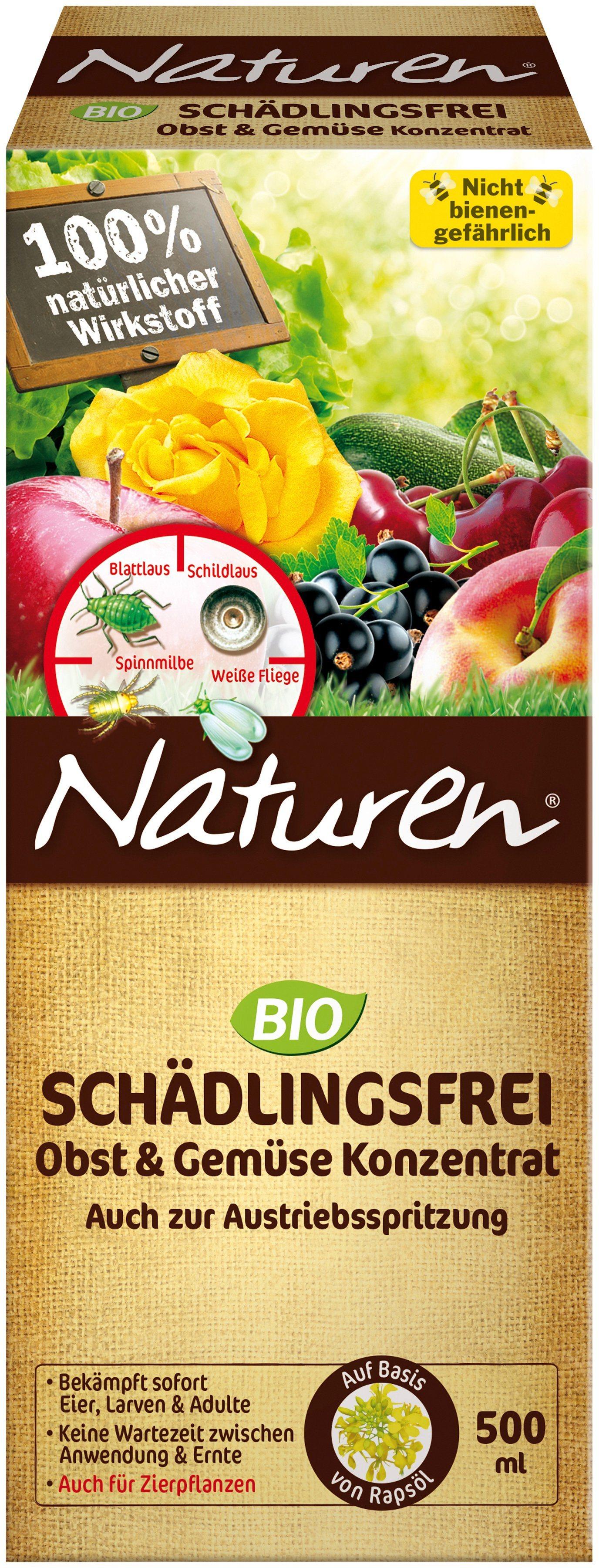 NATUREN Pflanzenschutzmittel »Bio Schädlingsfrei «, für Obst und Gemüse, 500 ml | Garten > Pflanzen > Pflanzkästen | Scotts Naturen