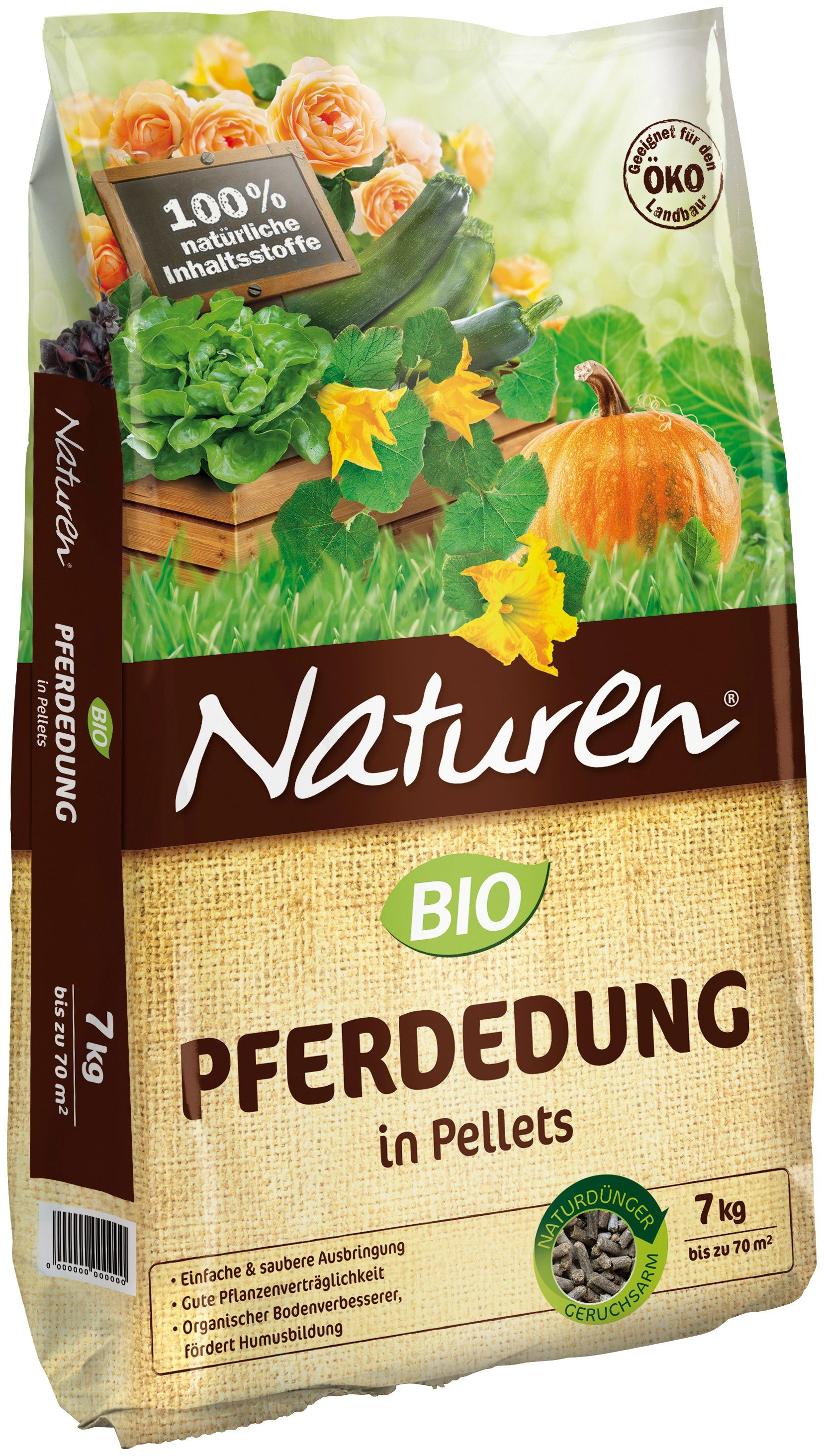 NATUREN Bio-Pferdedung , 7 kg