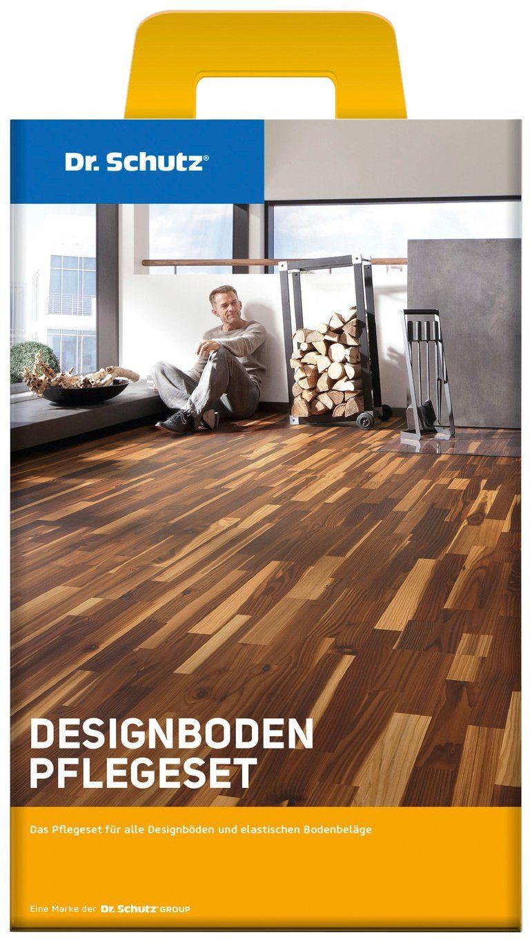 Reinigungs-Set »Dr. Schutz Designboden Pflegeset«, PU-Reiniger und Vollpflege matt