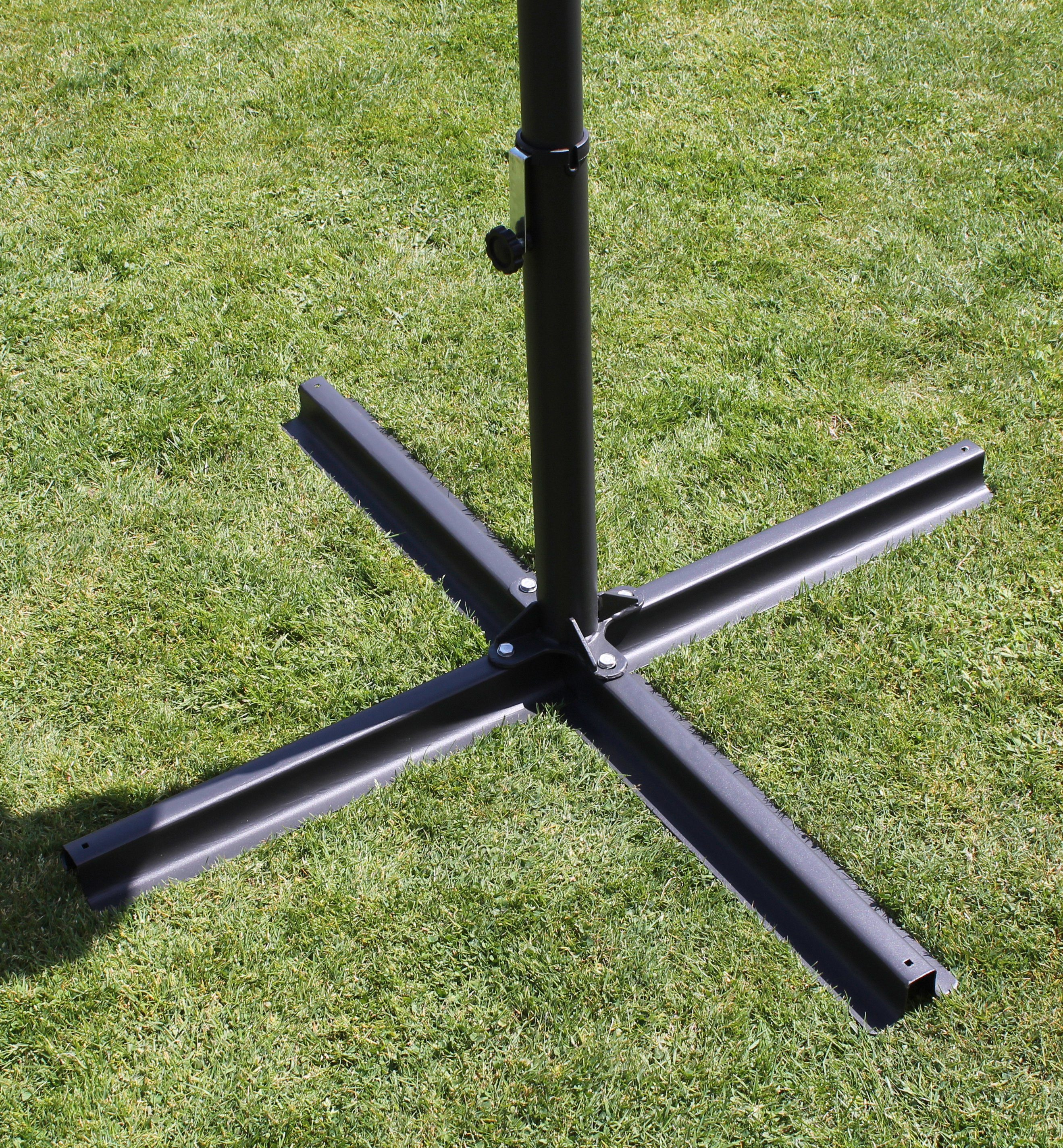 LECO Schirmständer , Stahl, für Stöcke Ø bis 50 mm