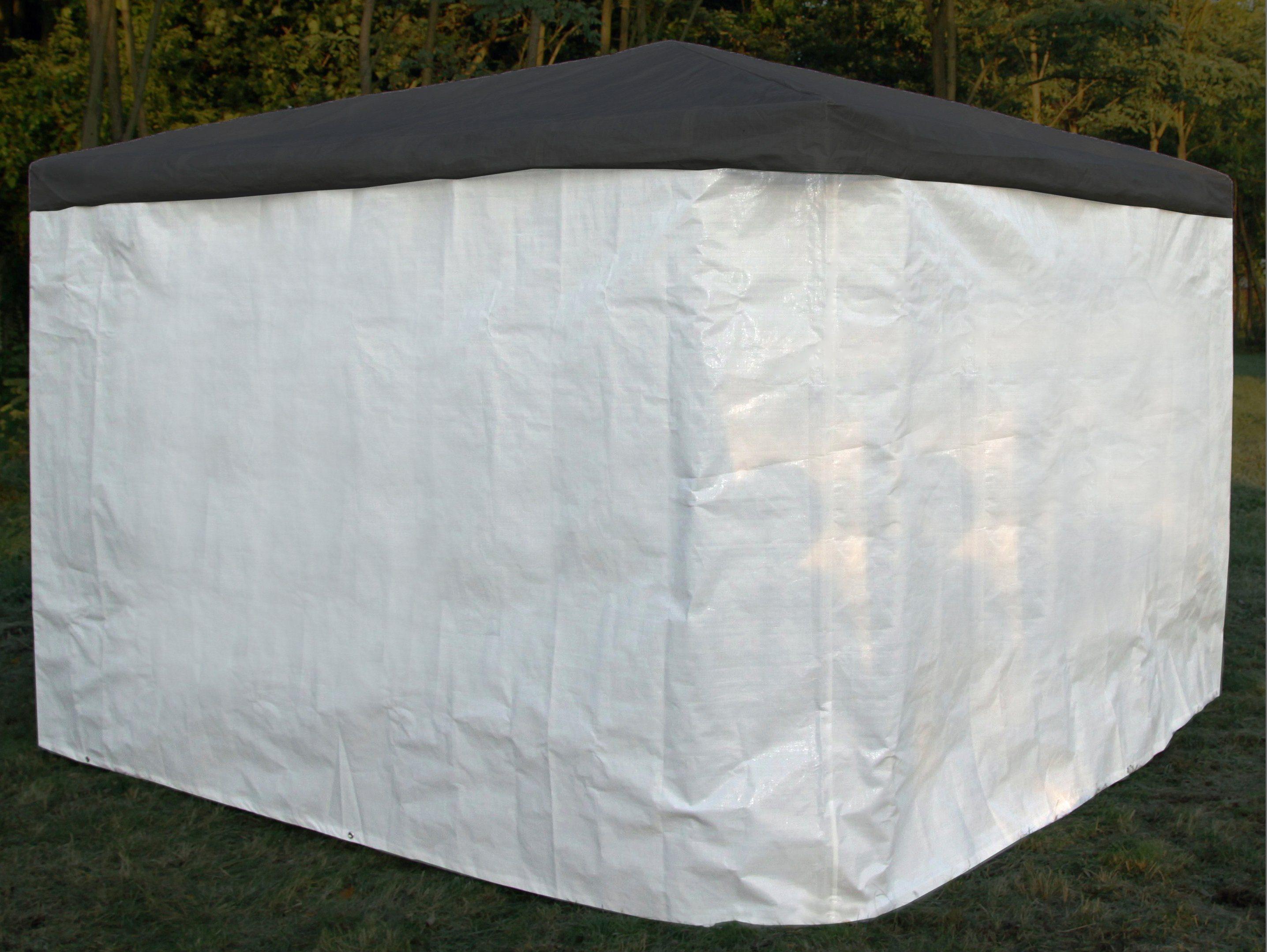 PROMADINO Wetterschutz Seitenteile für Pavillon »Mindelheim«