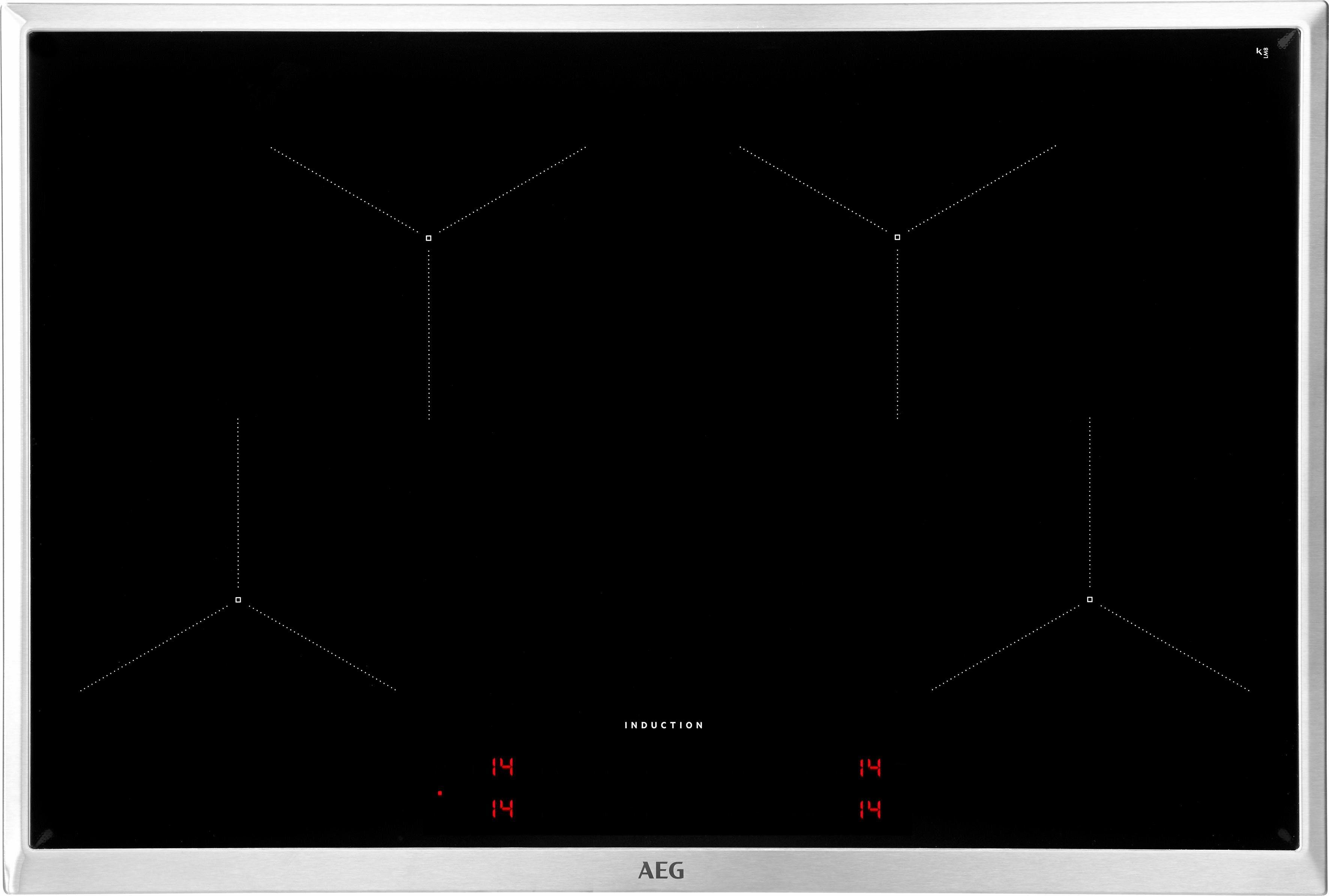 AEG Induktions-Kochfeld IKB84431XB, mit Hob²Hood-Funktion