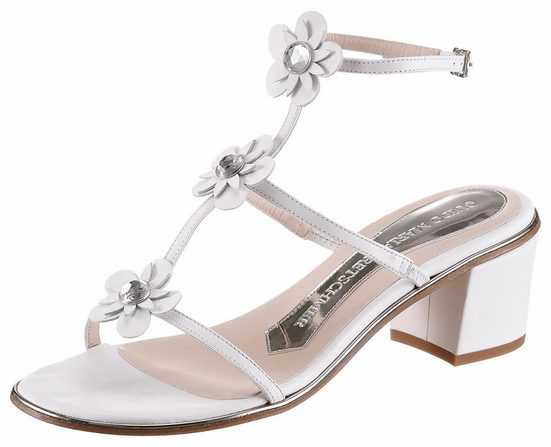 GUIDO MARIA KRETSCHMER Sandalette, mit glänzenden Schmuckssteinen