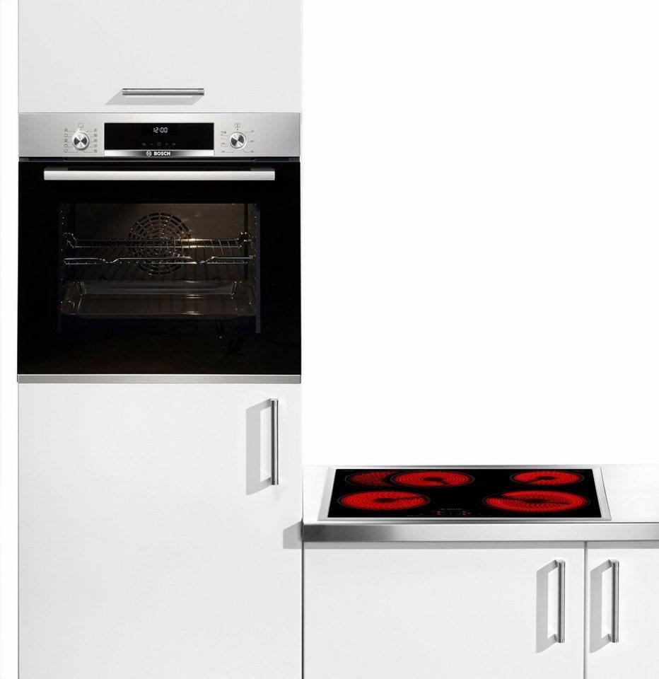 bosch backofen set hbd611ls60 mit autarkem kochfeld. Black Bedroom Furniture Sets. Home Design Ideas