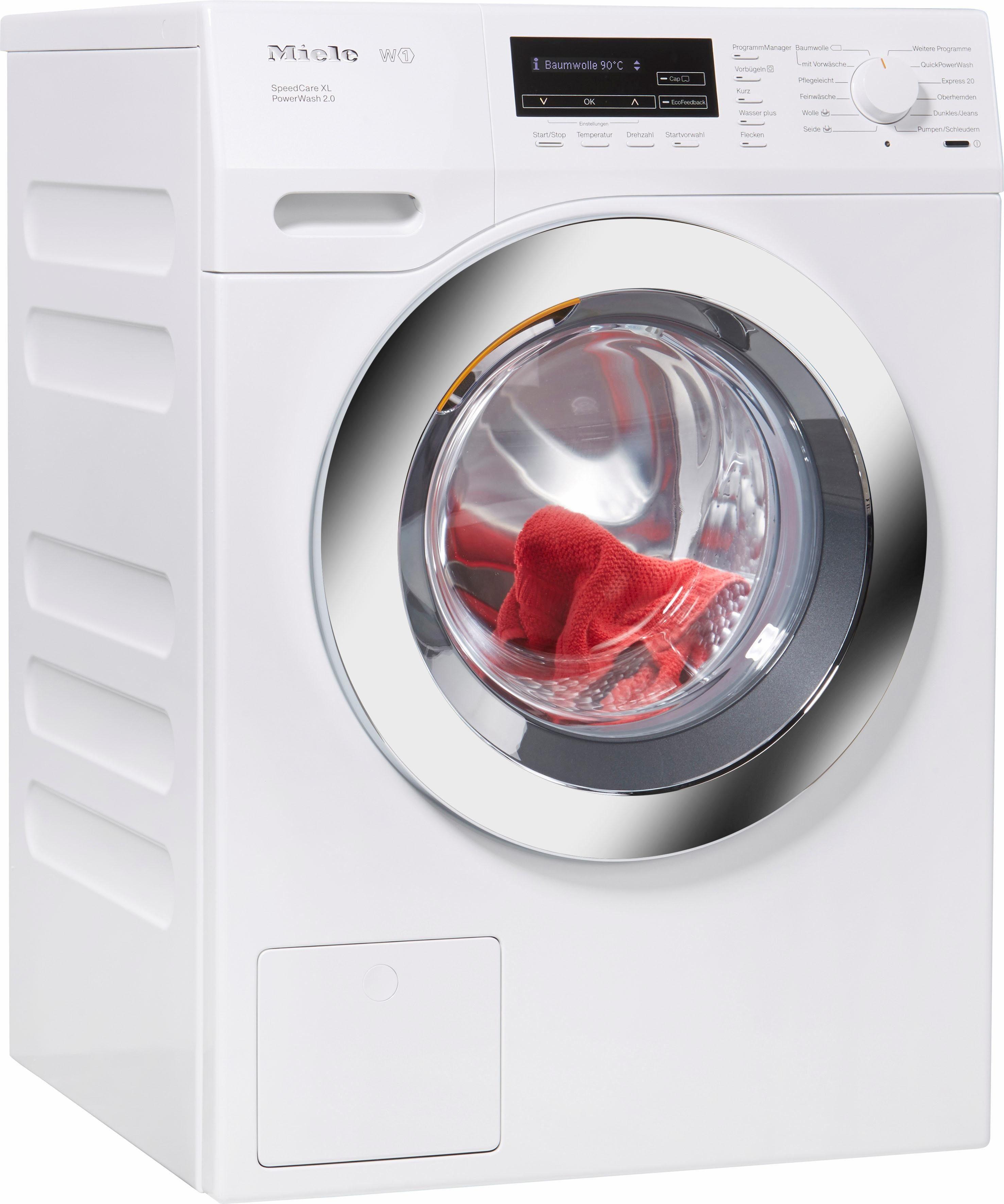 Miele Waschmaschine WKF 332 WPS SpeedCare XL, 9 kg, 1600 U/Min