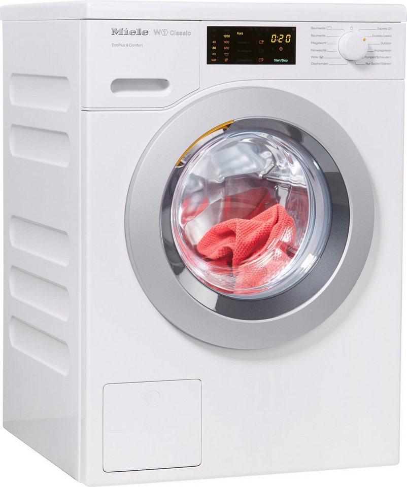 Miele Waschmaschine W1 Classic WDD021 WPS EcoPlus&Comfort, 8 kg, 1400 U/Min  online kaufen | OTTO
