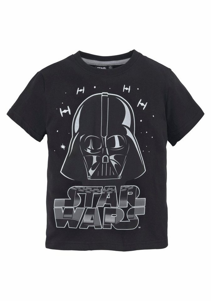 star wars t shirt mit coolem star wars druck otto. Black Bedroom Furniture Sets. Home Design Ideas