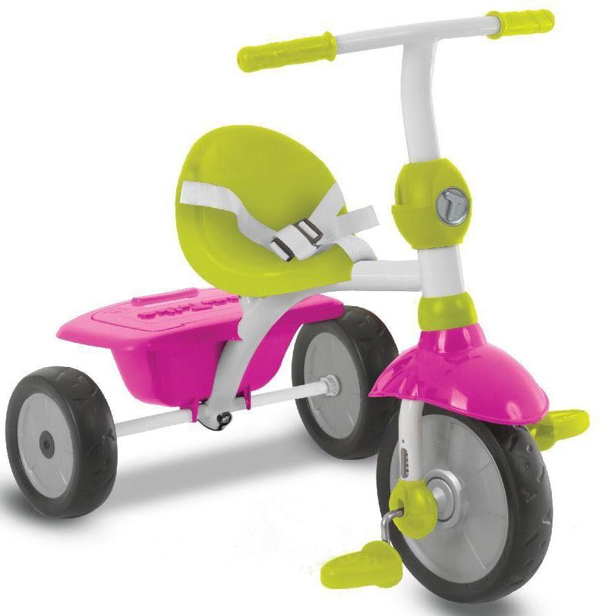 SmarTrike® Dreirad mit Sonnenschutzdach, »Zip, pink grün«