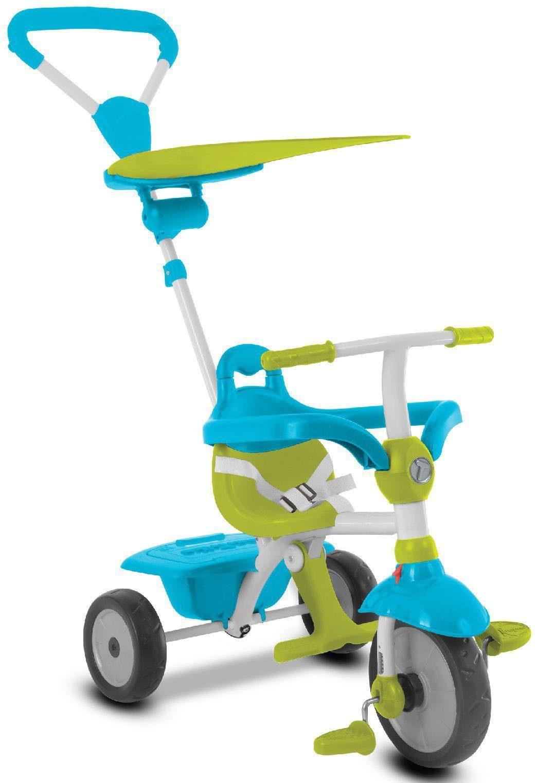 SmarTrike® Dreirad mit Sonnenschutzdach, »Zip, grün blau«