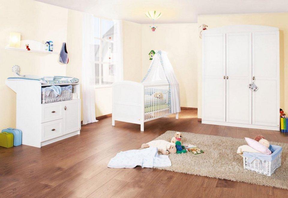 Pinolino babyzimmer set 3 tlg kinderzimmer laura gro - Otto babyzimmer ...