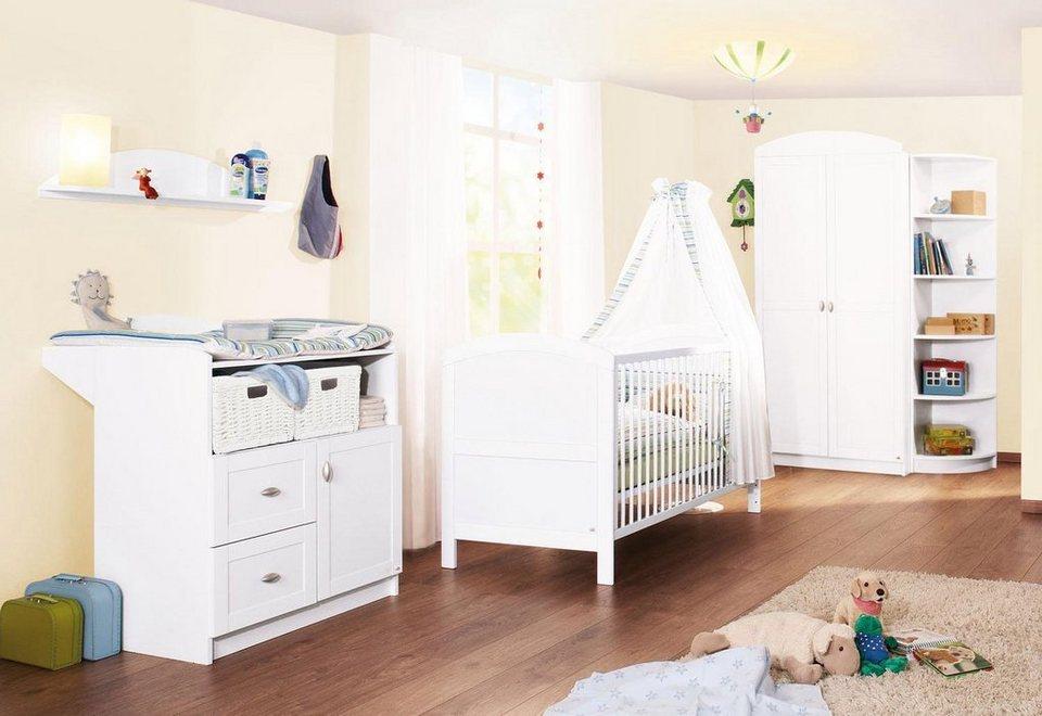 Pinolino babyzimmer set 3 tlg kinderzimmer »laura« online kaufen