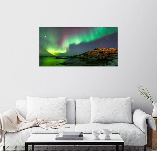 Posterlounge Wandbild Louise Murray Nordlichter bei Tromso