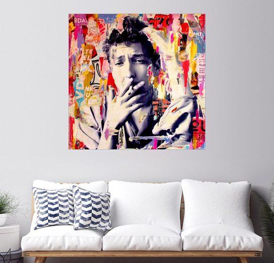 Posterlounge Wandbild - Michiel Folkers »Bob Dylan«