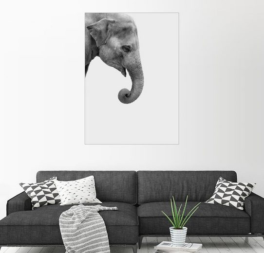 Posterlounge Wandbild - Finlay and Noa »Elefant«