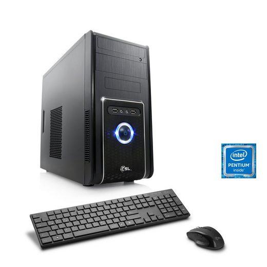 CSL Multimedia PC | Pentium G4560 | Intel HD 610 | 8 GB DDR4 RAM »Speed T1911 Windows 10 Home«