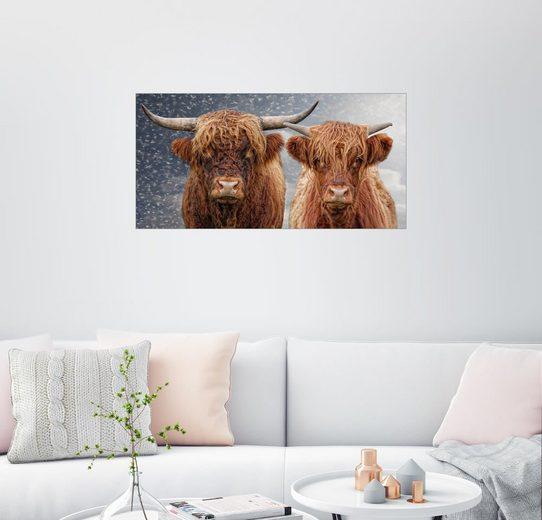 Posterlounge Wandbild - Joachim G. Pinkawa »He and She«