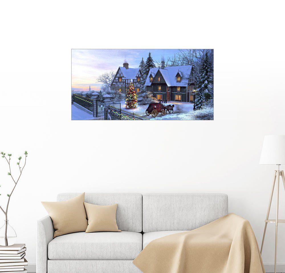 Posterlounge Wandbild - Dominic Davison »Wunderschöne Weihnacht«