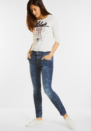 Street One Bleached Loose Fit Denim Rob