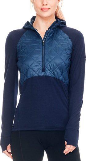 Icebreaker Pullover Ellipse Ls Half Zip Hood Women