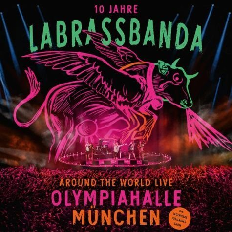 Audio CD »LaBrassBanda: Around The World (Live)«