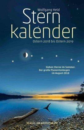 Broschiertes Buch »Sternkalender Ostern 2018 bis Ostern 2019«