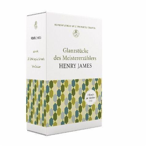 Buch mit Leinen-Einband »Glanzstücke des Meistererzählers Henry James,...«