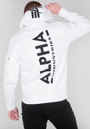 Alpha Industries Kapuzensweatshirt Back Print Hoody