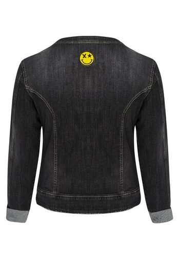 Belloya Jeansjacke, mit Patches