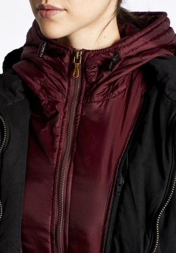 Khujo Winterjacke Yeni With Inner Jacket, With Removable, Padded Insert