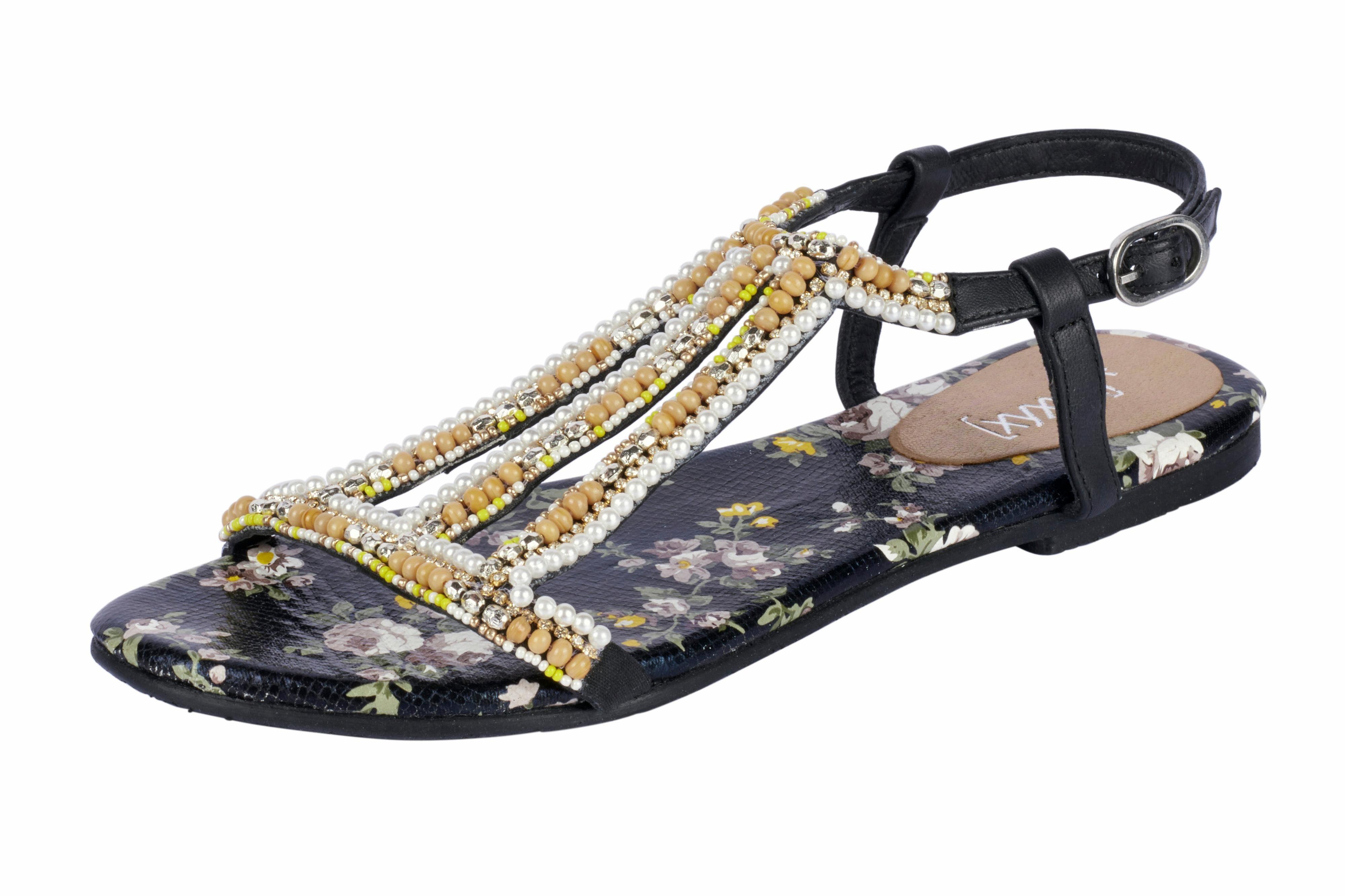 XYXYX Sandalette mit Nieten, schwarz, 38 38