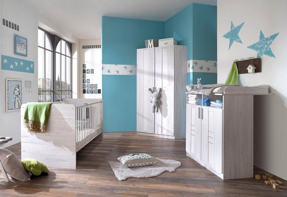 komplett babyzimmer pellworm babybett wickelkommode. Black Bedroom Furniture Sets. Home Design Ideas