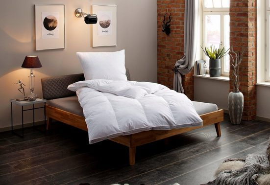 Federbettdecke, »Valerie«, my home, extrawarm, Füllung: 100% Federn, Bezug: 100% Baumwolle, (1-tlg)