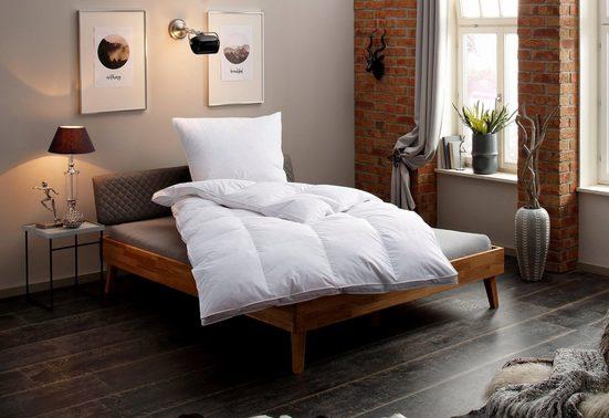 Federbettdecke, »Valerie«, my home, warm, Füllung: 100% Federn, Bezug: 100% Baumwolle, (1-tlg)