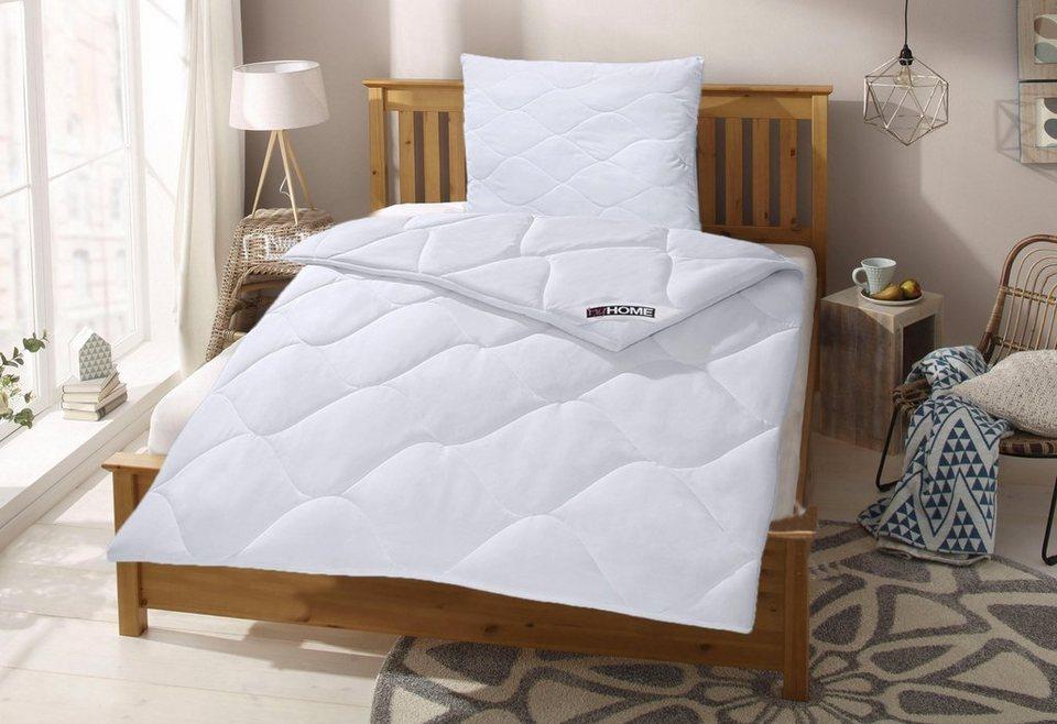 Kunstfaserbettdecke Schlafkomfort My Home Warm Bezug 100 Baumwolle 1 Tlg Cotton Made In Africa Online Kaufen Otto