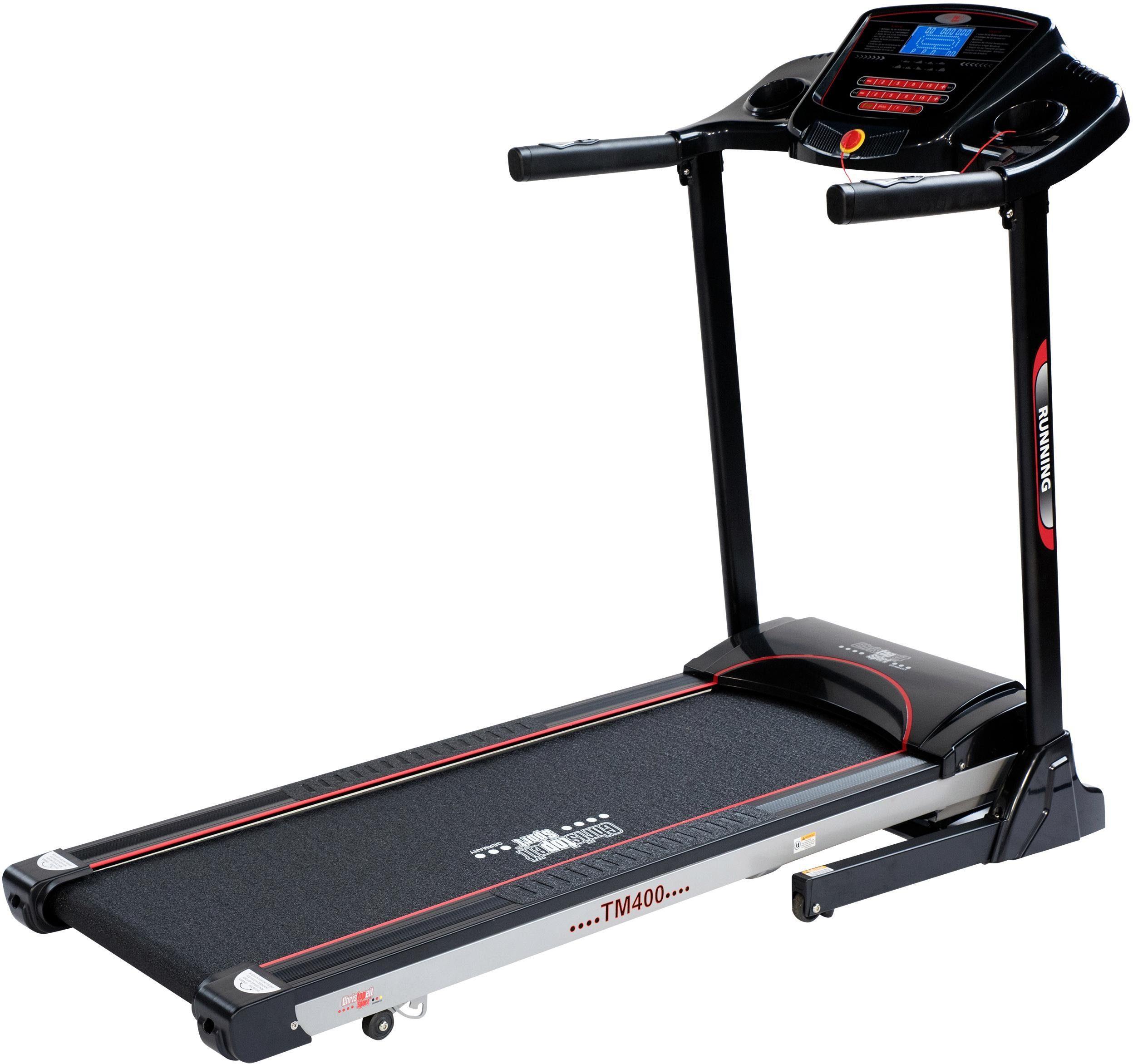 Christopeit Sport Laufband »TM 400 Black Edition«